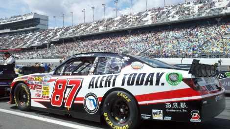 Alert Today Alive Tomorrow - NASCAR