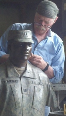 Sculptor Michael Jernigan