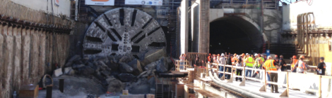 TBM Harriet Emerges from her Final Voyage