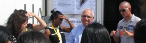 DHL's International Media Tour Visits Port Everglades