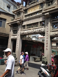 Old city gate on Kinmen Island