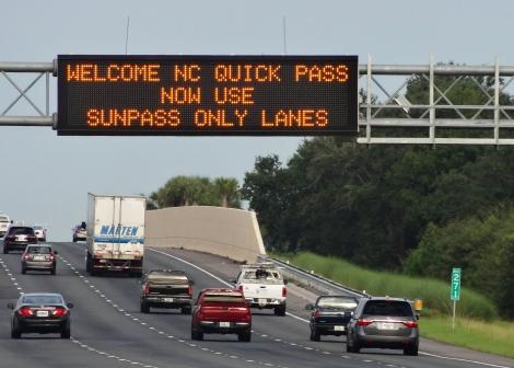 SunPass Welcomes North Carolina Quick Pass Motorists