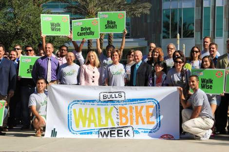Bulls Walk and Bike at USF