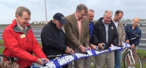 Courtney Campbell Pedestrian Trail Grand Opening