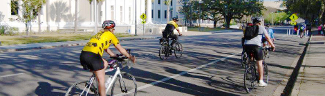 Bicycle Safety Ride to the Capitol