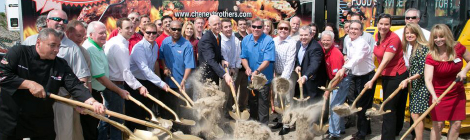 Cheney Brothers Distribution Center Groundbreaking