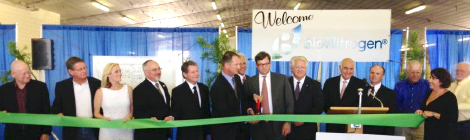 BioNitrogen Ribbon Cutting