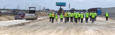 U.S. DOT Secretary Foxx Visits I-275 In Tampa