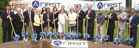 A-FIRST Groundbreaking