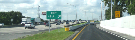 SunPass-Only Ramp Opens on Turnpike