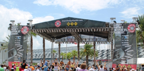 Alert Today Alive Tomorrow at Daytona Speedway
