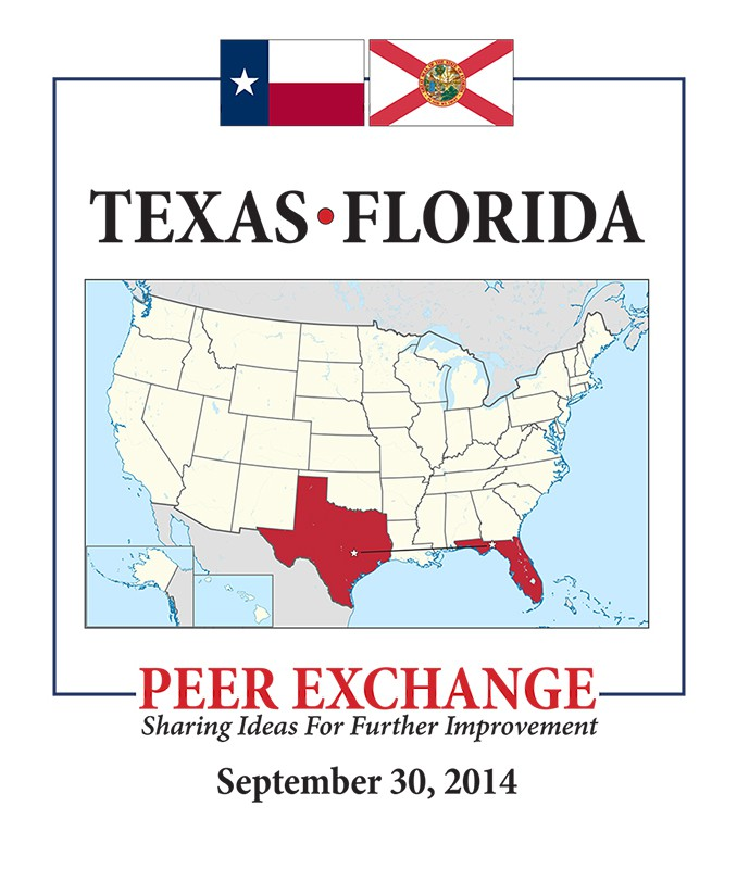 Map Of Texas To Florida.Texas Florida Peer Exchange Fdot E Newsletter