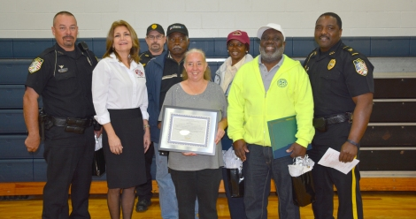 Crossing Guard Appreciation Day: 2014 Guard of the Year Alachua