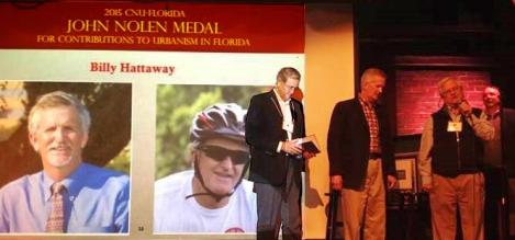 District One Secretary Hattaway Receives John Nolan Medal