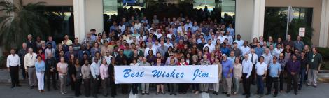 District Four Secretary Jim Wolfe Retires