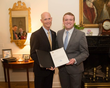 Gubernatorial Fellow wins Jeb Bush Award