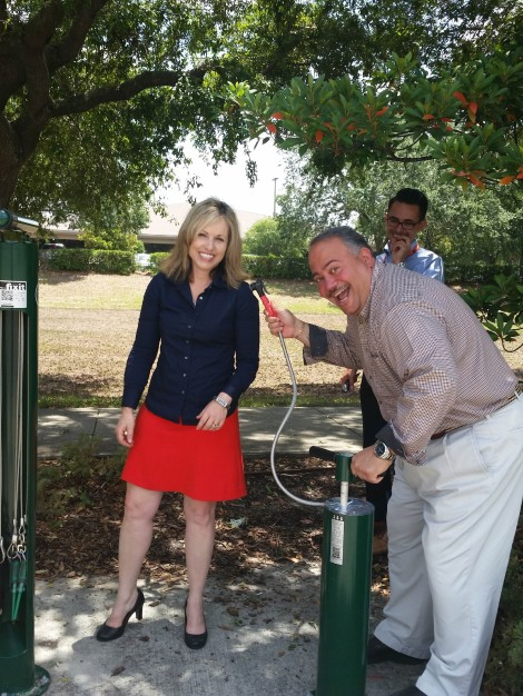 Do-It-Yourself Bicycle Repair Stations