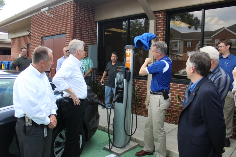New Electric Vehicle Charging Station Installed