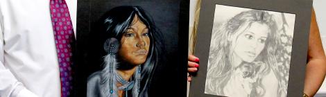 District Five Hosts Employee Art Exhibits