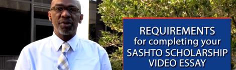 SAHSTO Scholarship 2016